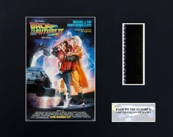Back to the Future ll 8 x 10 Film Cell