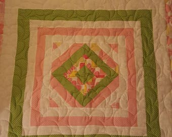 Peace It Together baby quilt