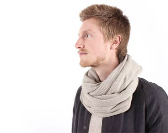 "Hemp scarf ""Snood"""
