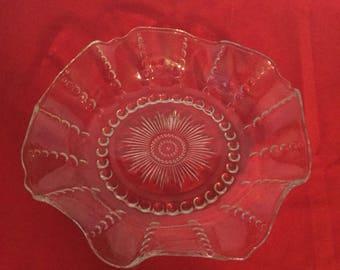 Depession Er glass bowl