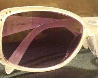 Designer DG Sunglasses with Rhinestones