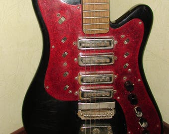 Stella Electric Guitar USSR Soviet Vintage