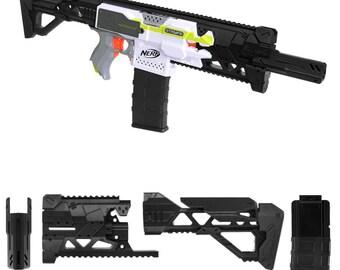 MaLiang 3D Strike 2 Rlife Imitation Kit Black 3D Printing for Nerf STRYFE Modify Toy PL173