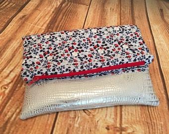 Fold Over Clutch Bag