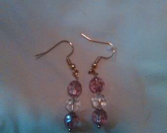 Pink Love Earrings