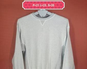Vintage Zara Trafaluc Sweatshirt Crewneck Sweater Lined Shirt Gray Colour Size M Polo RL Sweatshirt Adidas Sweatshirt Nike Sweatshirt