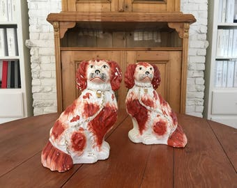 Staffordshire Dogs - Set of 2