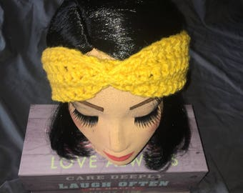 Fall headband/ear warmer