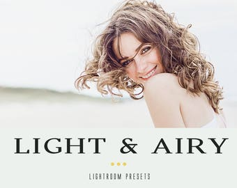 Light & Airy professional lightroom presets
