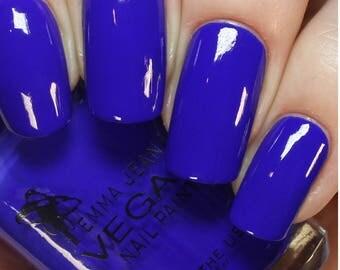 Blue Perfect Vegan Nail Polish: Blue Nail Polish, Non Toxic Nail Polish