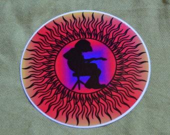 Mikey Sun Sticker