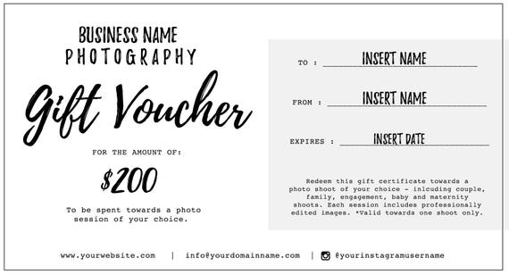 Engagement gift certificate template choice image certificate photography gift voucher certificate template psd for yadclub Images