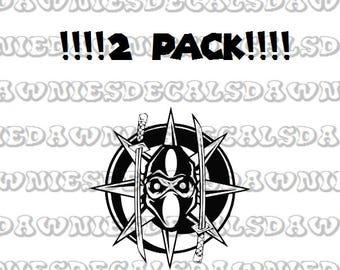 Majik Ninja MNE Vinyl Decal Sticker Twiztid Juggalo