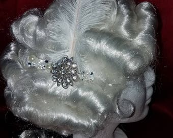 Beautiful Bride hair clip