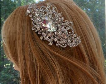 Vintage Style Wedding Headpiece, Vintage Style Wedding Headband, Vintage Style Wedding Comb, Vintage Style Bridal Headpiece