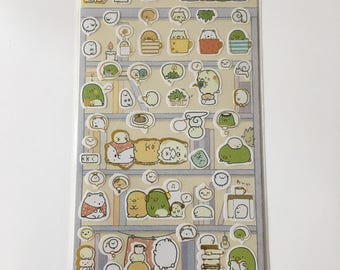 Cute Molang Rabbit Diary Stickers Decoration Stationery Label Sticker - Design 3