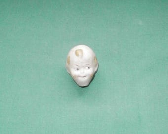 bisque googly head, nodder doll/Vintage/antique/1920s/socket head/Hertwig & Co., Thuringia/Germany