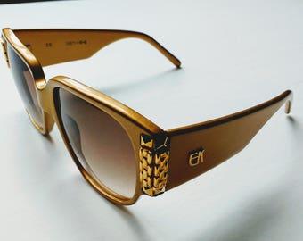 Vintage EK 2020-40-G Sunglasses ( Emmanuelle Khanh, handmade)