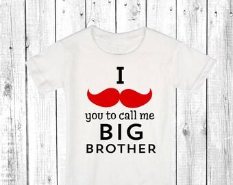 Big brother shirt, brother to be, boys shirt