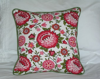 French Floral Vintage Fabric Scatter Cushion