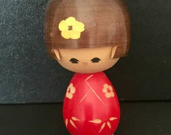 Kokeshi doll/ Japanese doll/ wooden doll