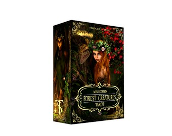 Forest creatures Tarot. Mini version. Limited edition. Free shipping!