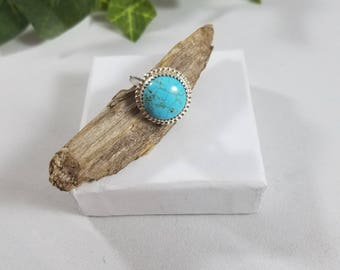 Lovely ring, Turquoise rings, Sterling Silver Ring, silver turquoise ring, turquoise jewelry, natural jewelry, spiritual jewelry, turquoise