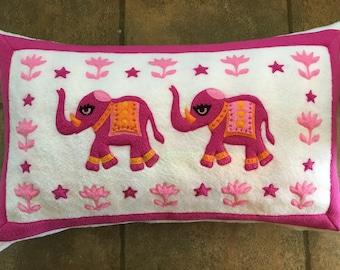 Pink India Elephants