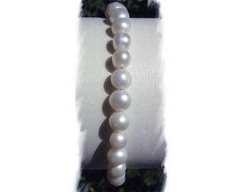 BRACELET in pearls of CULTURE and 925