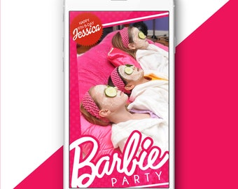 Barbie Party Snapchat Filter