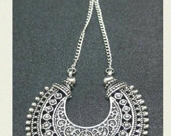 """Necklace Retro """"Perle Rose pendant"""""""