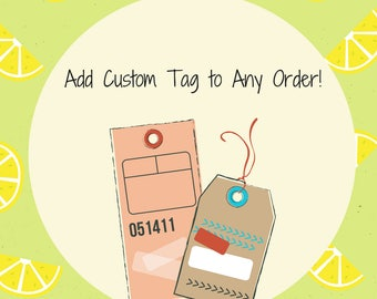 Add Tag or Card With Any Order