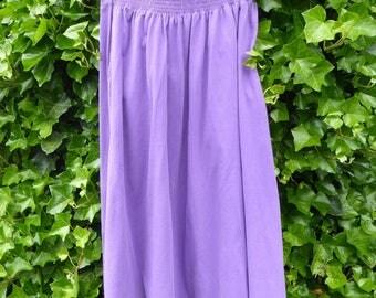 Lovely lavender maxi skirt size medium
