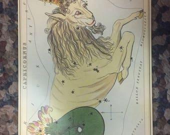 """Vintage Constellation Star Charts  5.5x8"""" pt 2"""