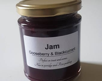 Gooseberry and Blackcurrant Jam