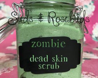Zombie: Dead Skin Scrub