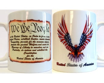"Patriotic ""We The People"" Coffee Mug"
