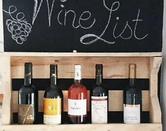 Bottle wooden wine carrier trend