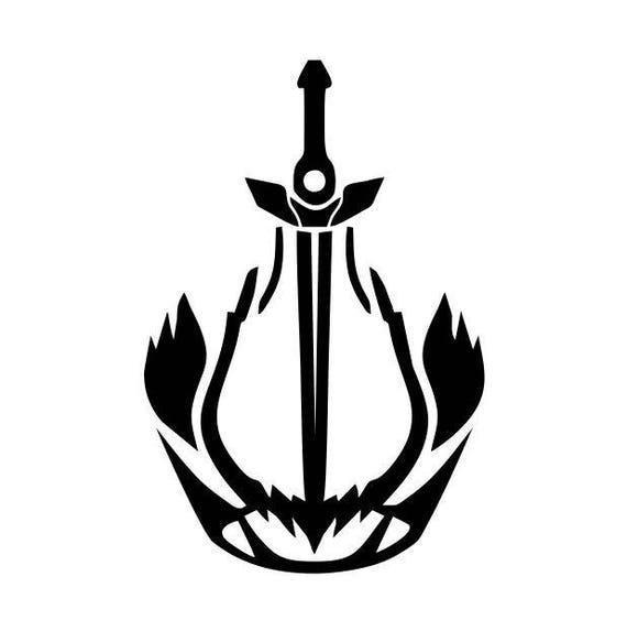 destiny 2 decal warlock dawnblade logo
