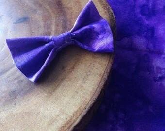 Purple Paradise' Pet Bow