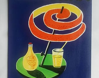 "Vintage advert ""Orangina drink"""