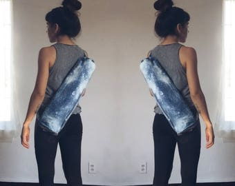 Acid Wash Handmade Yoga Mat Bag