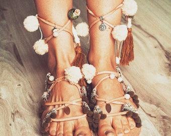 """Manja Whenua - """"Mana"""", handmade leather shoes"""