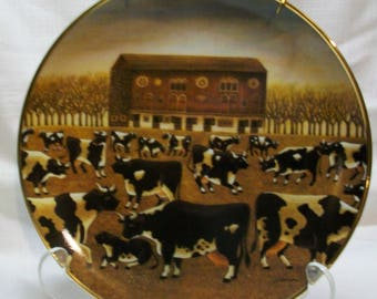 Listing 257 is a Spring Pasture Limited Edition Plate