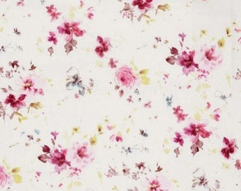 fabric flowers, linen, polyester, romantic