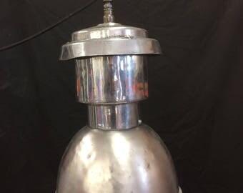 Large Industrial Aluminum Pendant Lamp