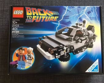 LEGO Back to the Future Delorean set SEALED BOX cuusoo 004