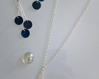 Set Earrings + Necklace