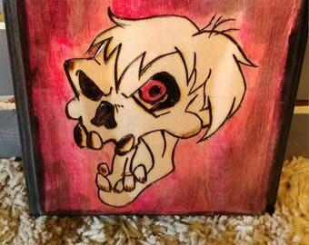 Red Zombie Plaque