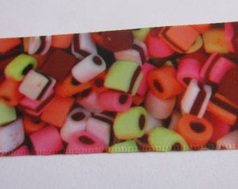 satin ribbon 38mm wide candy